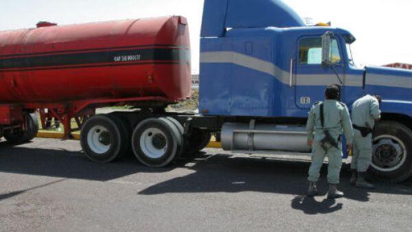 robo de mercanc�a a camiones