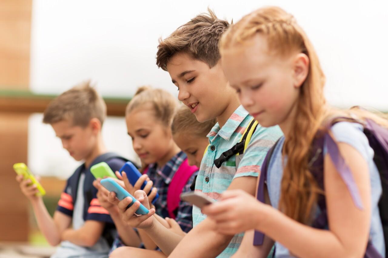 Niños y gadgets