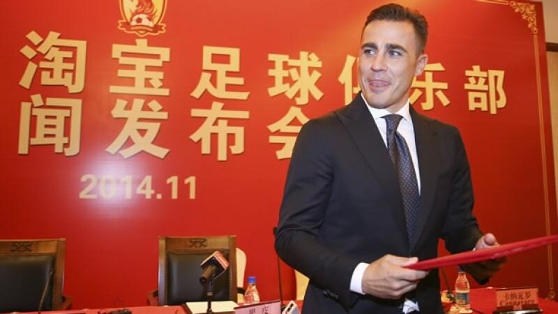 Fabio Cannavaro Guangzhou Evergrande
