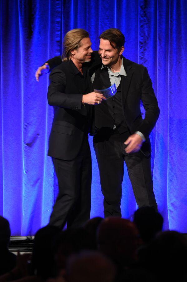 Brad Pitt y Bradley Cooper