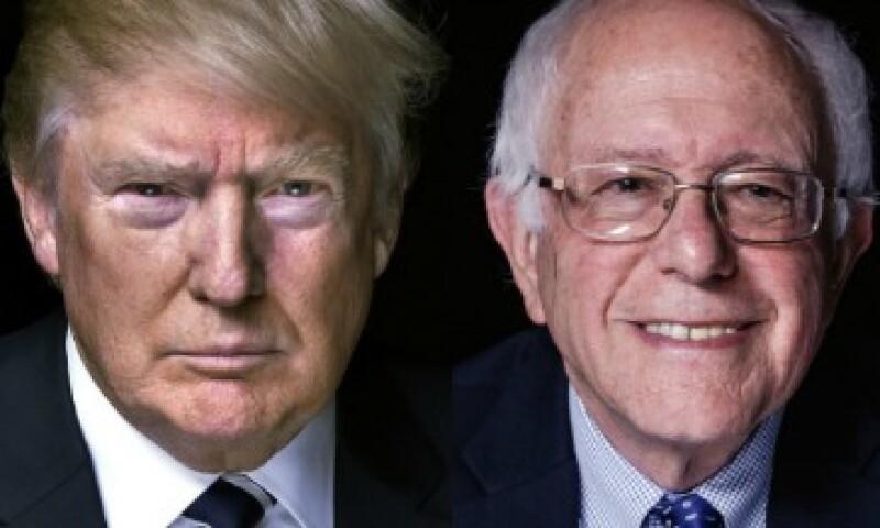 """Trump negó haber amenazado a Sanders, pero le pidió """"andar con cuidado"""" (Foto: Nigel Parry para CNN)"""