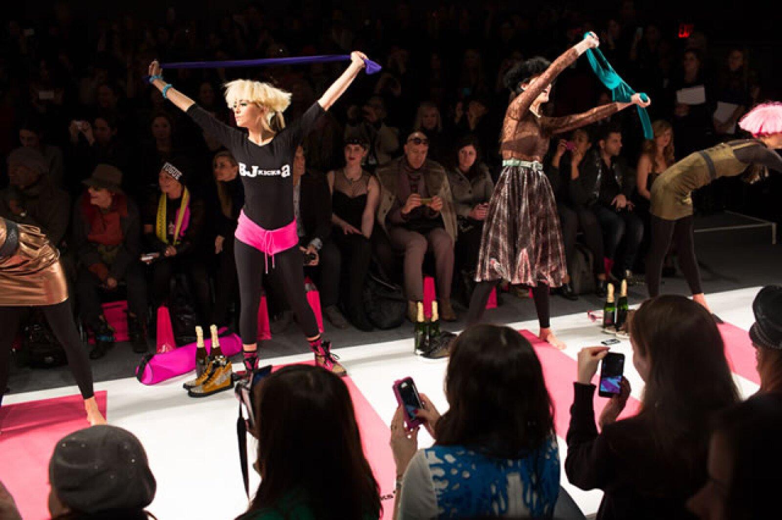 La gama fue creada en colaboración con su hija Lulu Johnson.