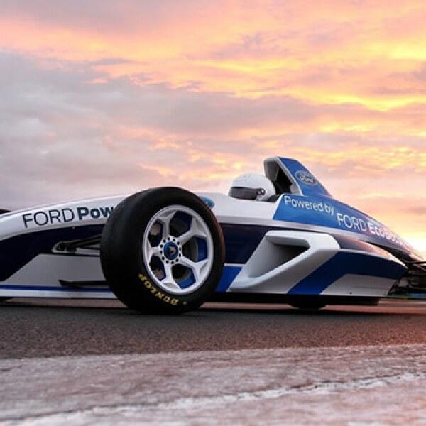 Slick es el nombre de este auto de carreras de Fórmula Ford, presentado durante la última etapa del Salón de Frankfurt 2011.