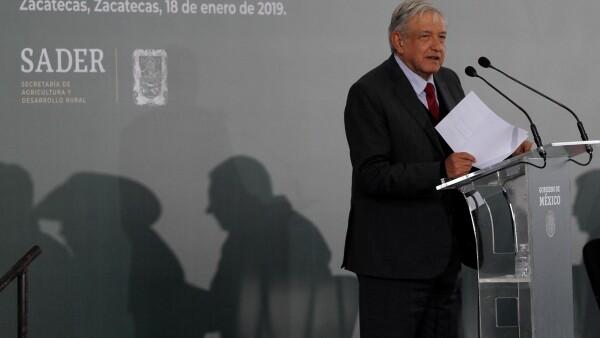 López Obrador AMLO precios de garantía