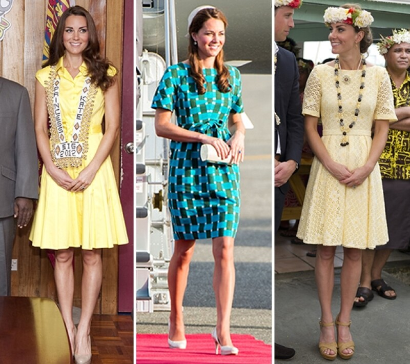 La Duquesa de Cambridge usó un guardarropa espectacular durante su gira por el sureste de Asia, pero tanto estilo no fue gratuito.