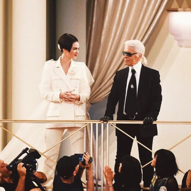 La otra hermana Jenner es la reina de las pasarelas.