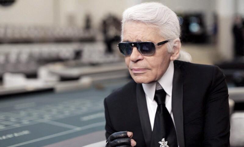 Karl Laggerfeld y sus shades de la marca