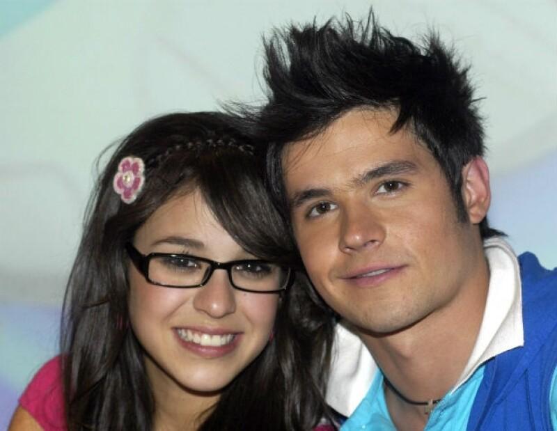 Así fue la primera vez que el público vio a Eleazar y Danna Paola como pareja.