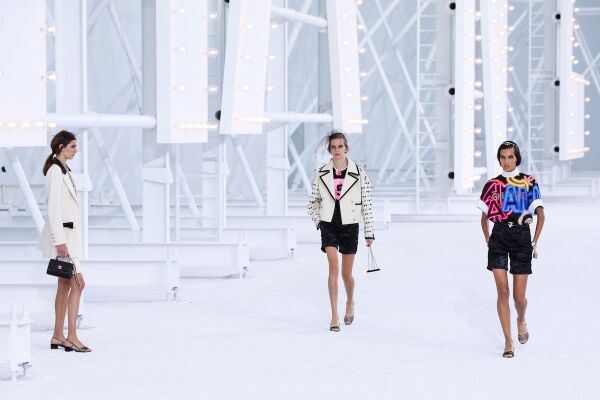 Chanel show, Runway, Spring Summer 2021, Paris Fashion Week, France - 06 Oct 2020