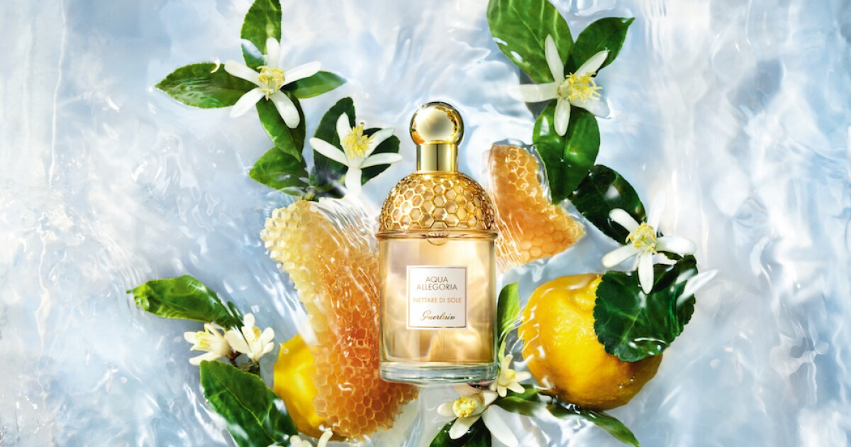Nettare di Sole, the new and cheerful fragrance by Guerlain