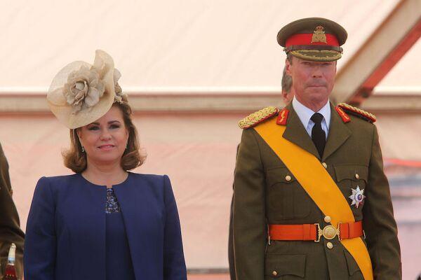 María Teresa de Luxemburgo y el gran duque Enrique