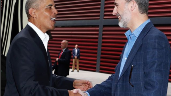 Barack y Felipe
