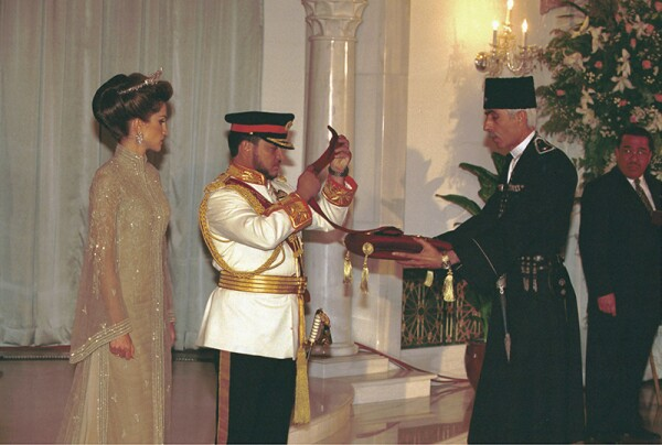 INVESTITURE OF KING ABDULLAH OF JORDAN IN AMMAN