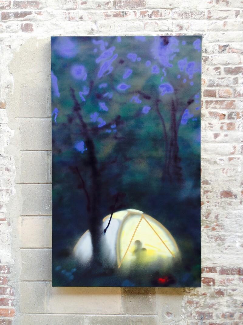 Tent, Dave Miko, Galería Lodos