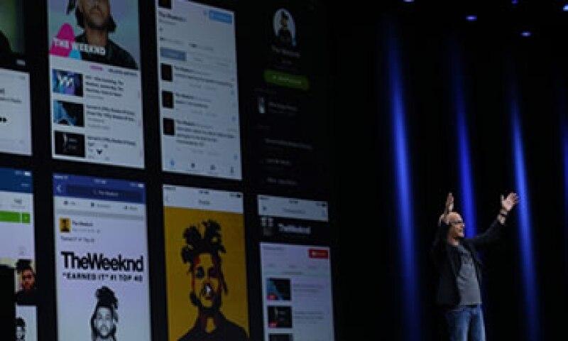 El servicio de música de Apple te permite elegir géneros y artistas. (Foto: AFP )