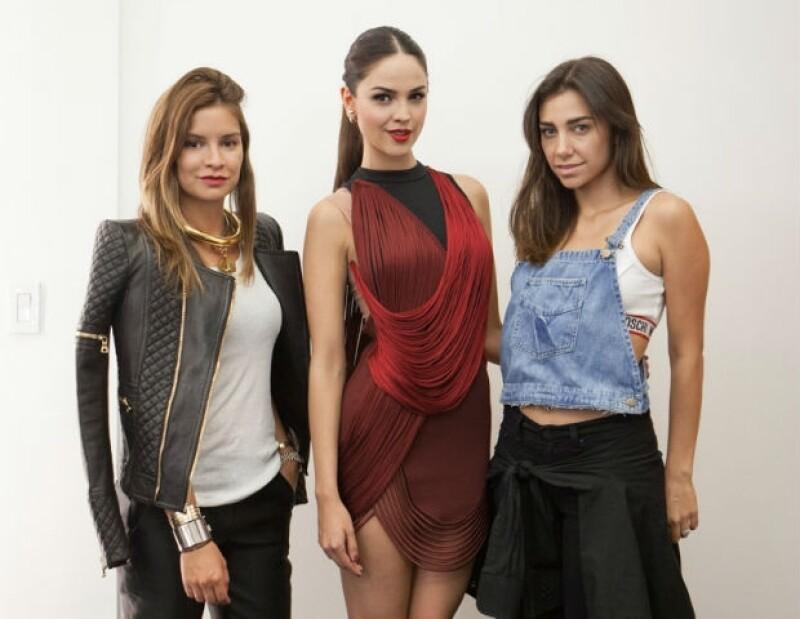 Acompañamos a la actriz durante su paso como host en la premiación de MTV y sus stylists nos hablaron en exclusiva de la elección de cada uno de sus outfits.