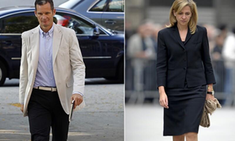 El esposo de la infanta Cristina, Iñaki Urdangarín, está acusado de malversación de varios millones de euros. (Foto: AFP)