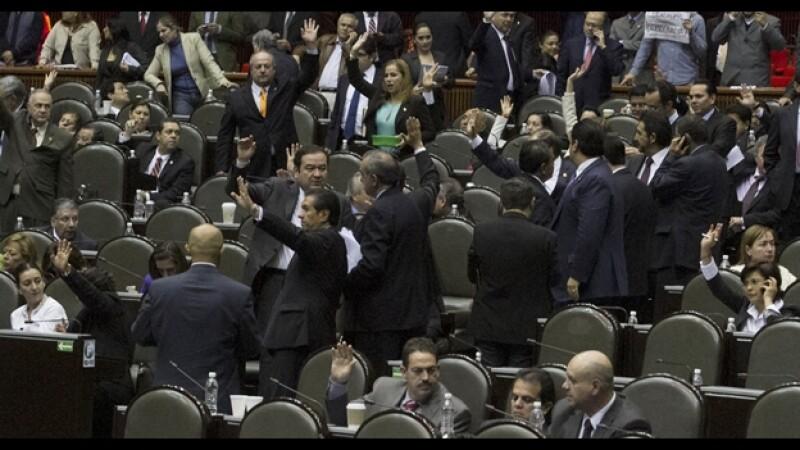 diputados aprobación particular reforma política
