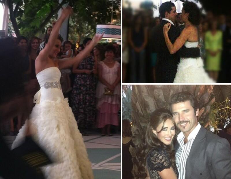 Juan Cristóbal Salinas y Natalia Esponda se casaron en medio de un gran misterio, entre los invitados estuvieron Anahí y Leonardo García.