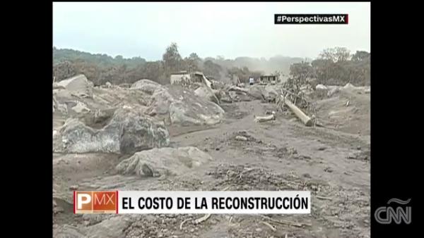 El costo de reconstrucción de la zona afectada en Guatemala se estima en 66 mdd
