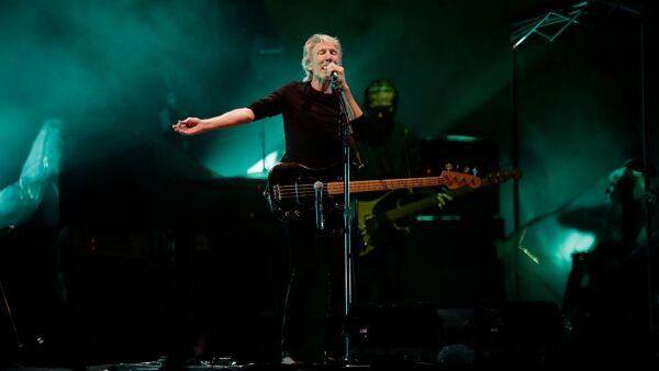 Roger Waters en el Zócalo CDMX