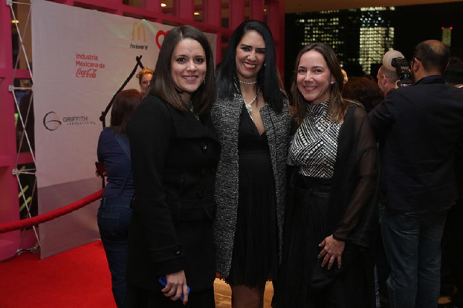 Mar Branquet,Paola Melancio y Andrea Arnaud