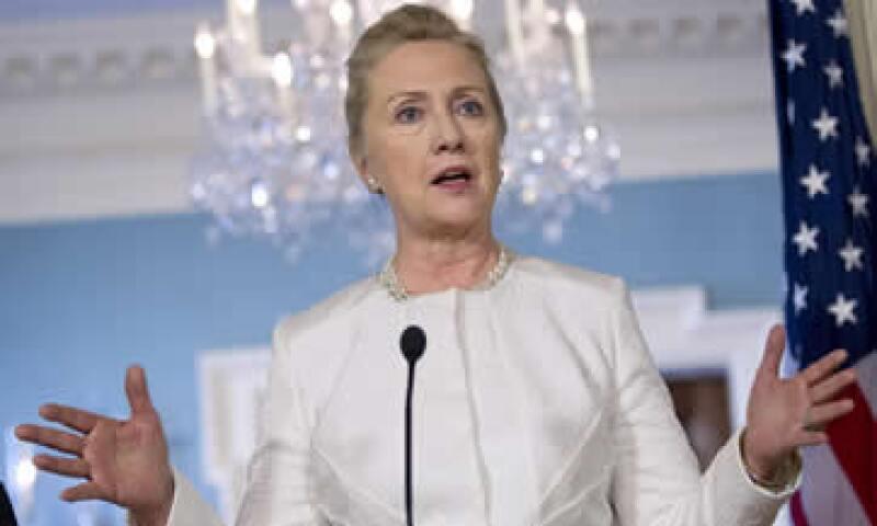 En junio pasado, Hillary Clinton aseguró que no estaba en busca de la presidencia del Banco Mundial. (Foto: AP)