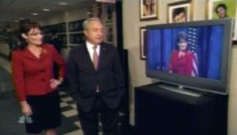 La imitadora Tina Fey logró elevar el raiting del programa Saturday Night Live con su imitación de la candidata a la vicepresidencia.