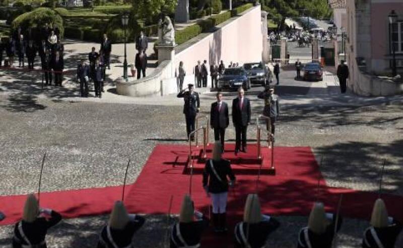 Pe�a Nieto en Portugal