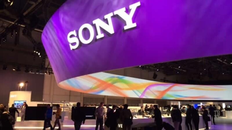 Productos de Sony son exhibidos en una convención en Las Vegas, Nevada, en enero pasado