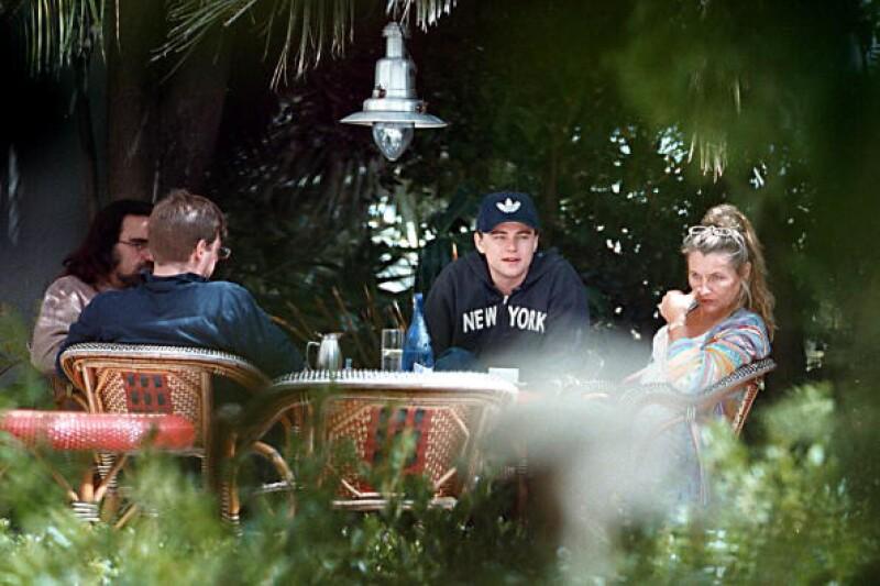 Esta fue una de las reuniones que Leo tuvo con su hermano y padres.