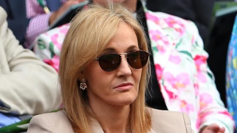 Escritora británica J.K. Rowling