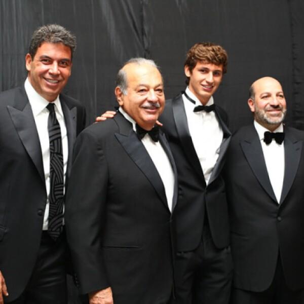 Arturo Elías Ayub, Carlos, Arturo Elías y Patricio Slim