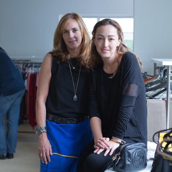 Margara Lightbourn y Lizett Gárate
