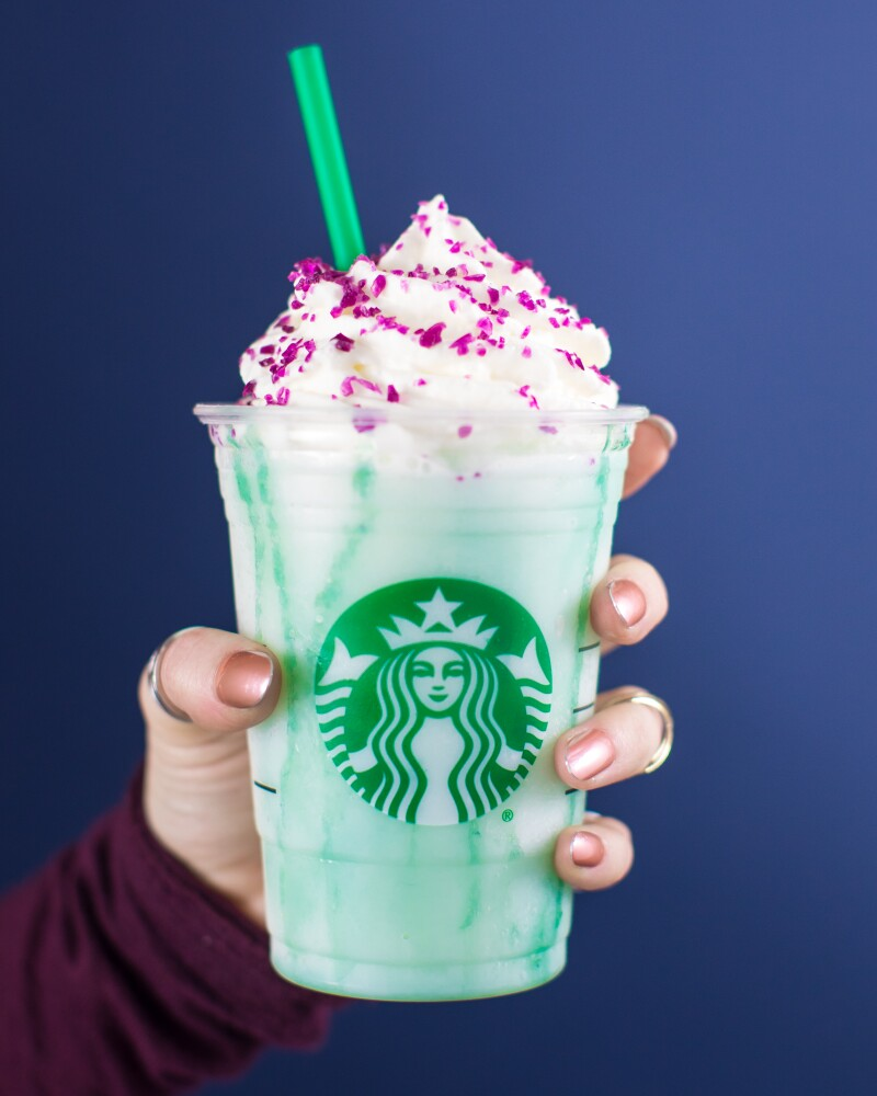 Crystal Ball Starbucks