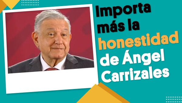 AMLO mencionó que Ángel Carrizales es una persona honesta | #EnSegundos ⏩