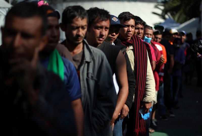 Inmigrantes hacia Estados Unidos