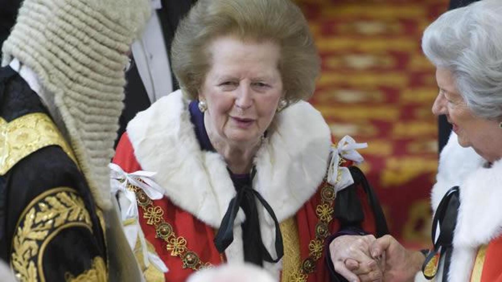 margaret tatcher ex primer ministra parlamento britanico