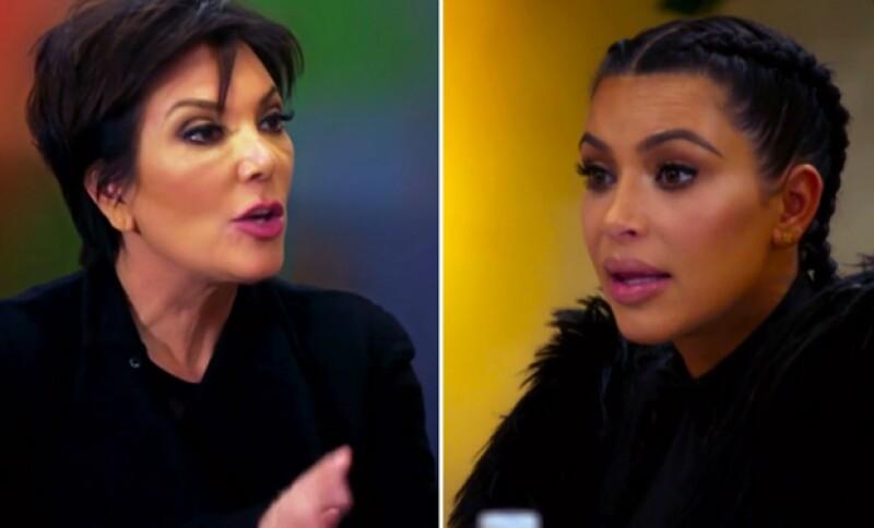 La momager del clan Kardashian ataca a su hija después de que ella, junto con Khloé, la criticara por ayudar económicamente a Rob.