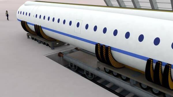 Carretera, ferrocarril y avión