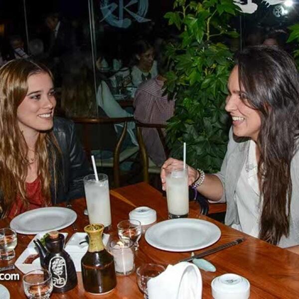 Lorraine Picard y Lourdes Hernández.