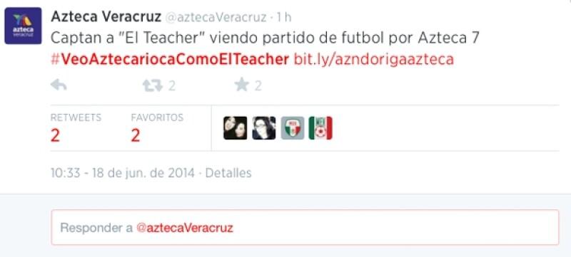 La foto de Joaquín López Dóriga viendo el partido de México vs Brasil por Azteca ha trascendido en las preferencias de Twitter, convirtiéndose en el tema más comentado el día de hoy.