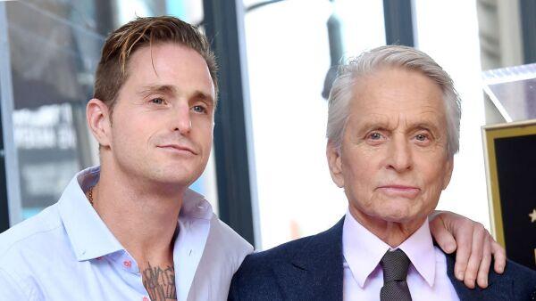 Cameron Douglas y Michael Douglas