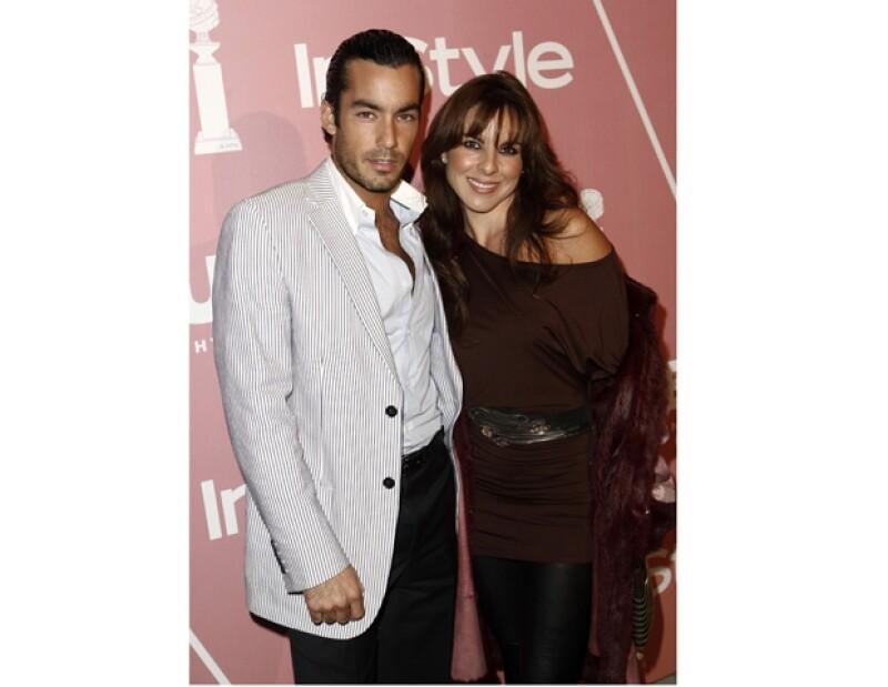 La actriz mexicana ha asegurado que siempre sentirá un profundo amor por su ex pareja Aarón Díaz.