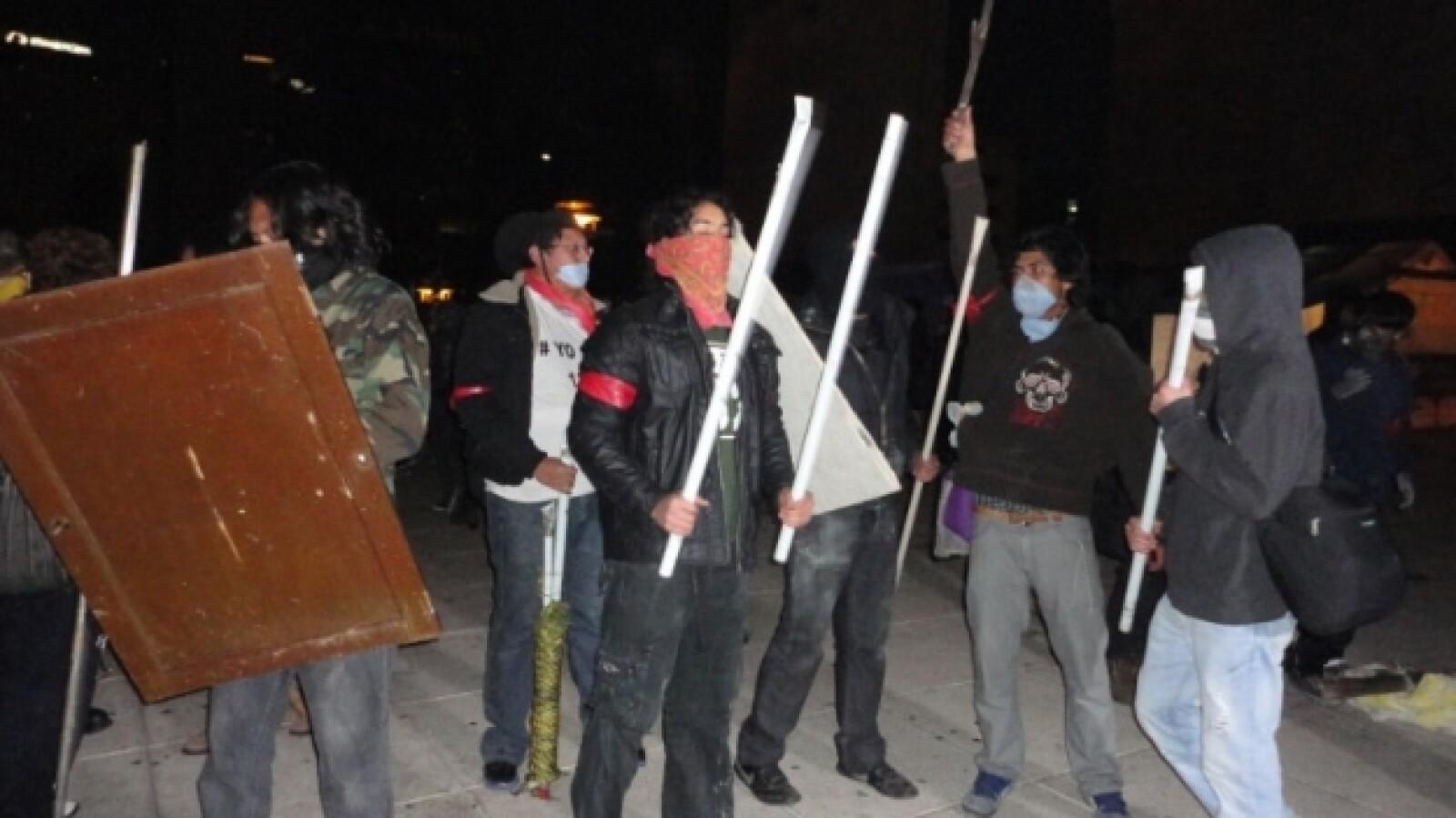 protesta _toma de posesión_ Peña 3