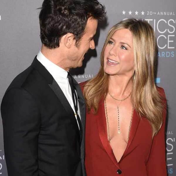 Por otro lado, estuvieron los enamorados, como es el caso de Jennifer Aniston y su prometido, Justin Theroux.
