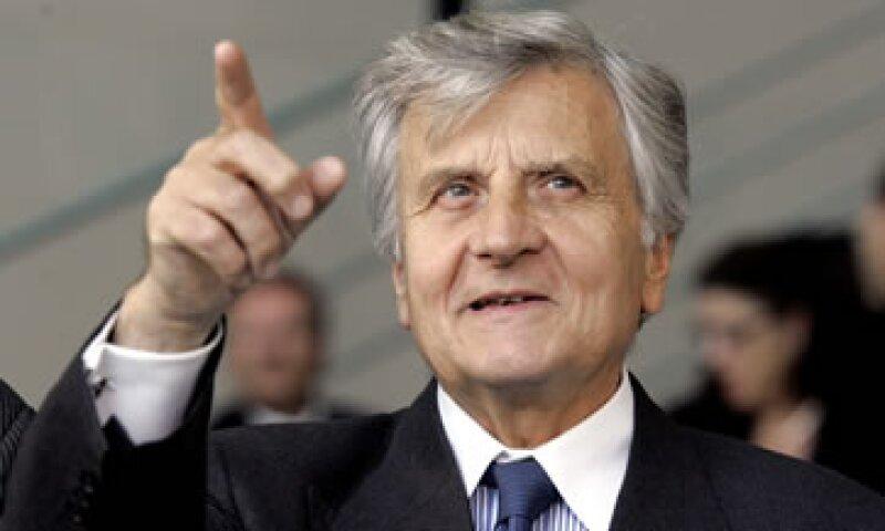 Jean-Claude Trichet llamó a la zona euro a dejar atrás la soberanía nacional y moldearse hacia la unión fiscal. (Foto: AP)