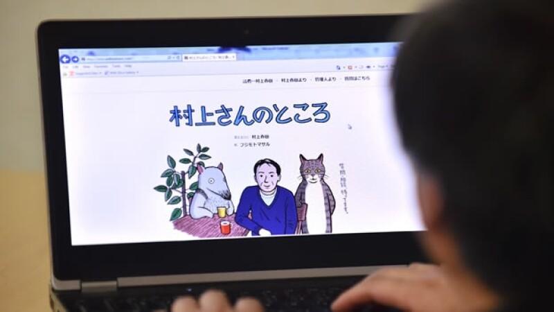 haruki murakami pagina web