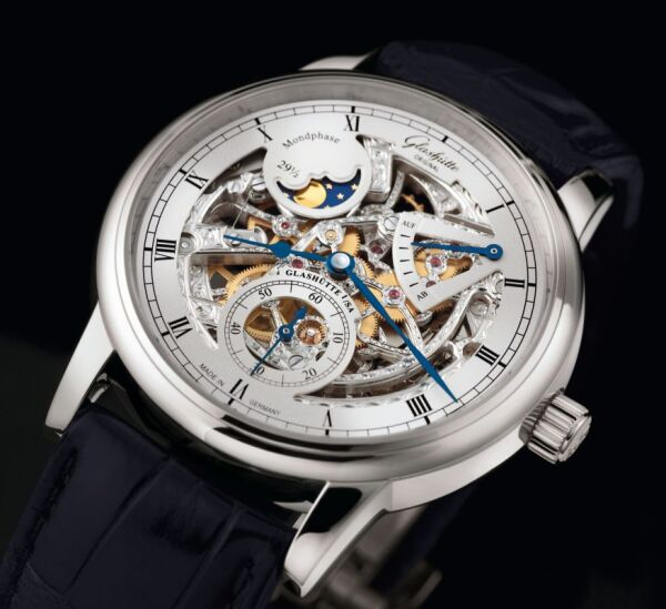 Glashütte Senator Moonphase Skeletonized Edition