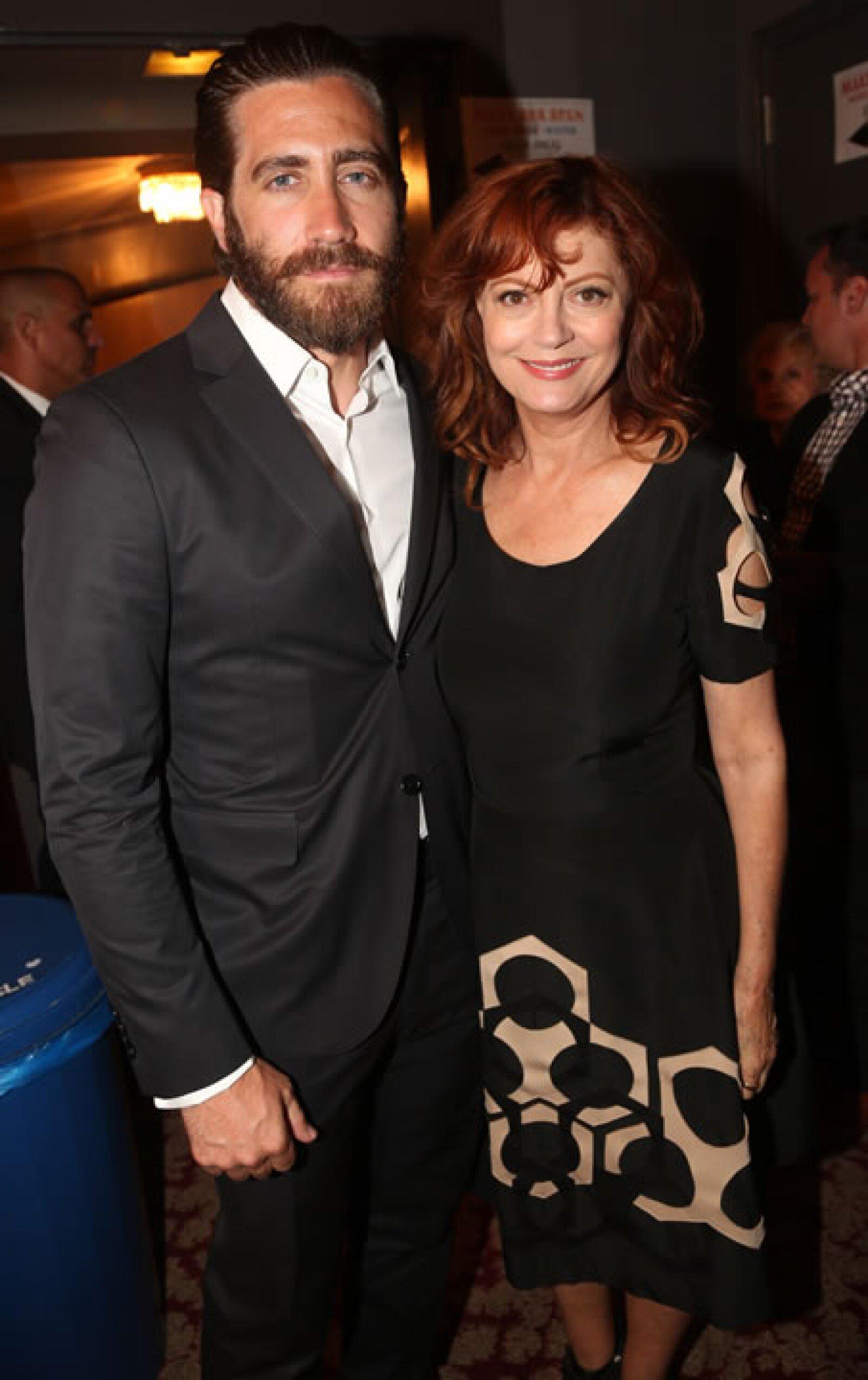 Jake Gyllenhaal y Susan Sarandon.